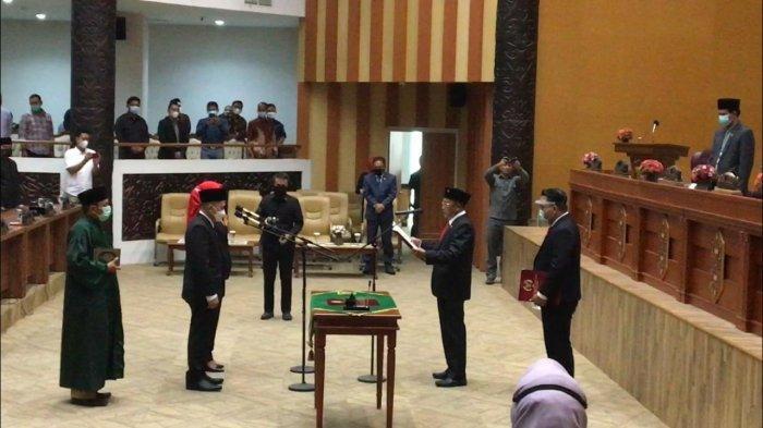 Deny Hakim Anwar dan Suryani Resmi Sebagai Anggota DPRD Samarinda