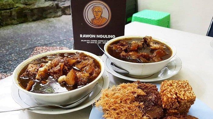 Makan Siang Ingin Makan Rawon, Ini Rekomendasinya di Kota Surabaya, Nikmatnya Rawon Nguling
