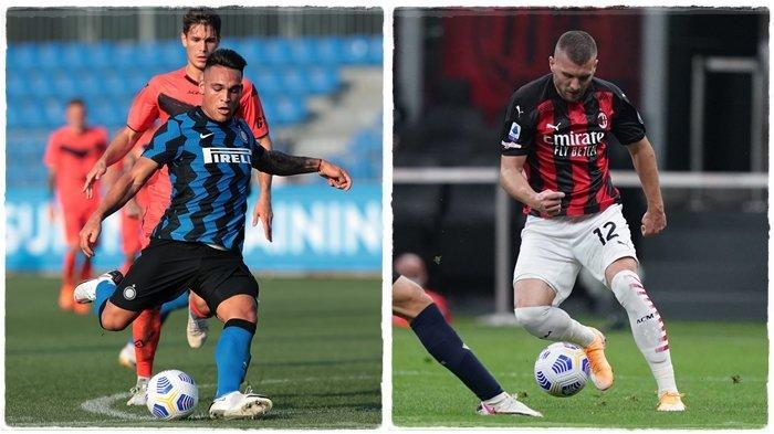 Prediksi Coppa Italia: Inter Milan vs AC Milan, Rossoneri Pincang, Calhanoglu Hingga Mandzukic Absen