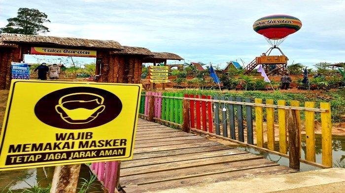 Wisata Taka Garden di Desa Senaken Paser, Berikut Fasilitas yang Disediakan