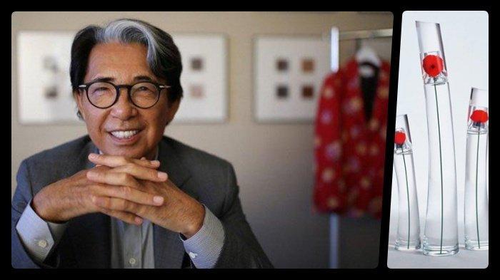 Desainer Jepang, Pemilik Merek Kenzo Meninggal Dunia di Paris Akibat Covid-19, Profil Kenzo Takada