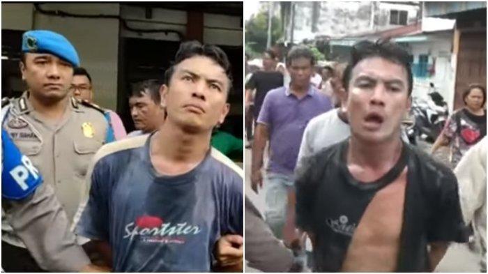 Detik-detik Preman Pasar Sukaramai yang Pukul Anggota TNI Pakai Linggis Digiring Polisi, Bangga?