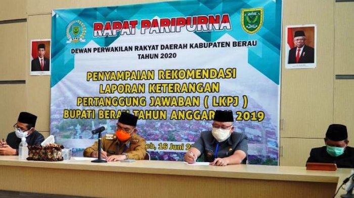 DPRD Sampaikan Rekomendasi LKPj Bupati Berau: Perlunya Dokter Spesialis hingga Air Bersih