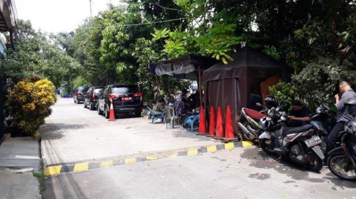 Kediaman Novel Baswedan di Kelapa Gading Jakarta Dijaga Petugas Keamanan KPK