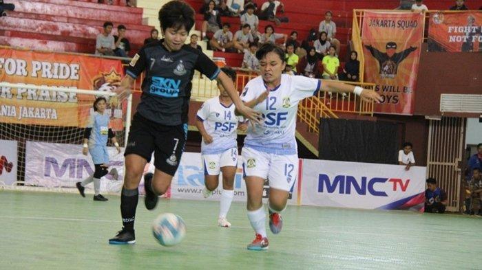 Top Skorer Sementara Women Pro Futsal League 2020, Dhia Putri Hapsari Tak Memikirkan Target Gol