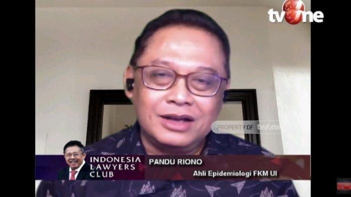Di ILC, Ahli Epidemiologi: Indonesia Gagal Tangani Pandemi Covid-19, Ingatkan Vaksin Bukan Solusi
