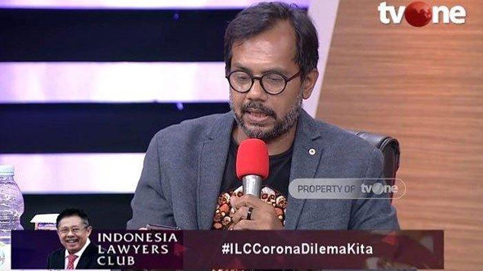 Di ILC Haris Azhar Soroti Nasib Kalangan Bawah, Dampak Wabah Corona: Kerja Mati, Enggak Kerja Mati