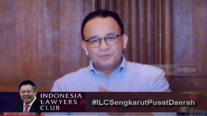 Di ILC, Anies Baswedan Beber Alasan Perpanjang Lagi PSBB Jakarta, Penentu Putus Rantai Virus Corona