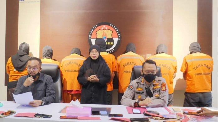 Diduga Aksi Pemerasan ke Perusahaan di Kukar, 7 Tersangka Dibekuk Polda Kaltim