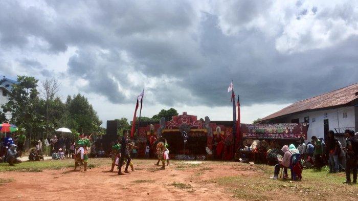 Laskar Gepak Suguhkan Kuda Lumping, HUT ke 123 Tahun Kota Balikpapan, Buktikan Santun Tidak Arogan