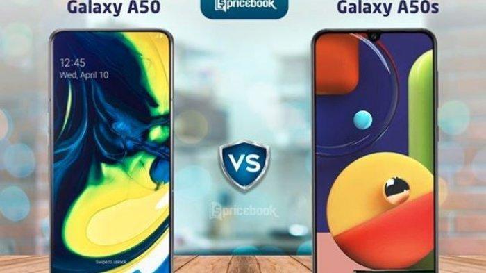 Ini Bedanya Samsung Galaxy A50s dan Galaxy A50, Segini Perbandingan Harganya