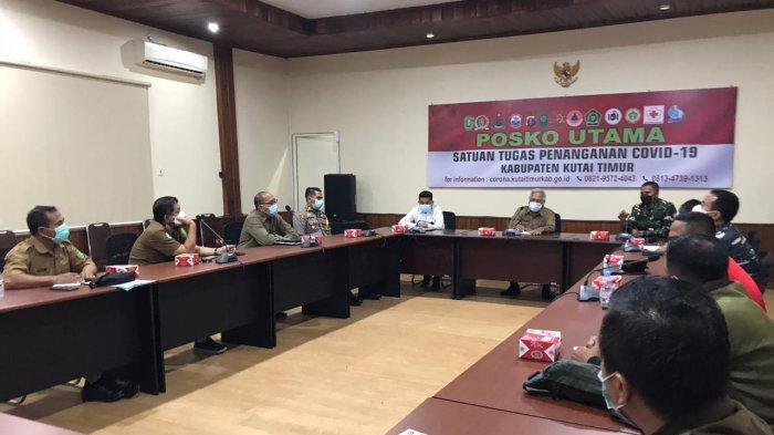 Satgas Covid-19 Kutim Rapat Evaluasi 2 Jam, Sorot Vaksin Sinovac Tahap 2 dan PPKM Mikro