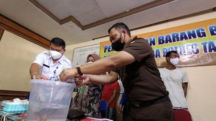 Polres Tarakan Kembali Musnahkan 120,67 Gram Sabu dari Dua Kasus Berbeda