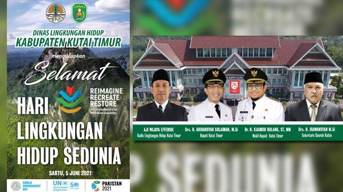 Dinas Lingkungan Hidup Kabupaten Kutai Timur Ucapkan Selamat Hari Lingkungan Hidup Sedunia