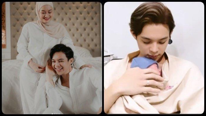 Dinda Hauw Lahirkan Putra Pertama, Momen Haru Rey Mbayang bareng Baby Arshaka: Ayah Gugup, Nak