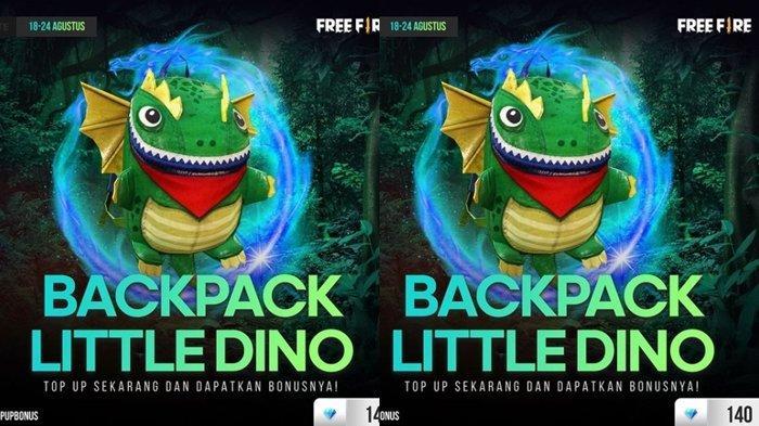 UPDATE Kode Redeem FF 19 Agustus 2021: Klaim Sekarang dan Dapatkan Backpack Little Dino, Gratis!