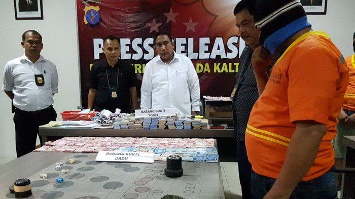 Judi Dadu Dalam Hutan di Samboja Digulung Polisi, Omsetnya Sampai Rp 500 Juta