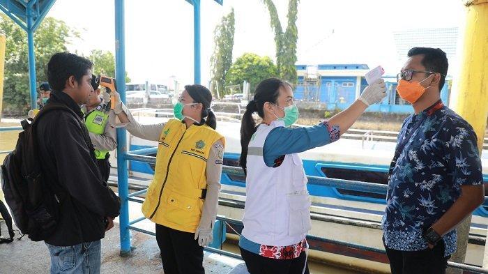 Kabar Pelabuhan Tengkayu II Tarakan Lockdown Adalah Hoaks, Armada Speedboat Reguler Didesinfektan