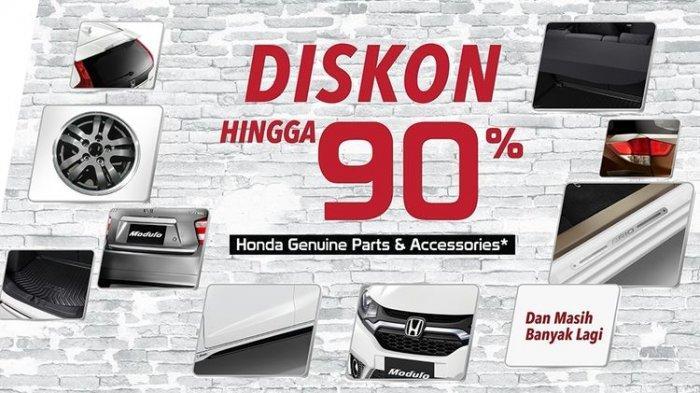 Hari Ini Terakhir di Otobursa 2019, Honda Beri Diskon Aksesori dan Onderdil, Hingga 90 Persen