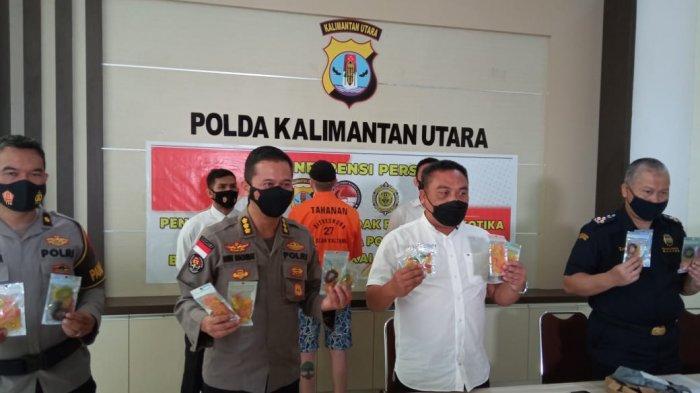Polda Kaltara Tangkap WNA Jerman di Tanjung Selor, Sebut Konsumsi Ganja Model Baru