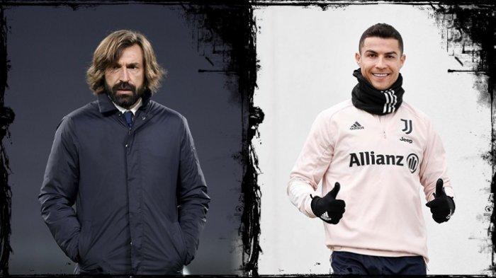 Liga Italia - Bela Pirlo, Eks AC Milan Kritik Sikap Ronaldo, Juventus vs Crotone Live Streaming RCTI