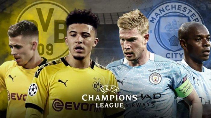 Prediksi Dortmund vs Man City, Jadwal Siaran Langsung Liga Champions Malam Ini, Akses Link Vidio.com