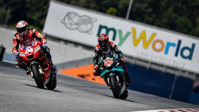Seru, Live Streaming Trans 7, MotoGP Emilia Romagna, Pebalap Honda Terjatuh, Vinales Pole Position