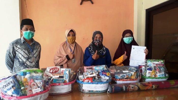 DPPKBP3A Berau Beri Bantuan Khusus Wanita dan Anak Keluarga Positif Corona yang Dikarantina