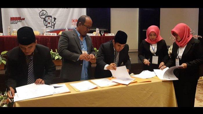 KPU Gelar Rapat Pleno Penetapan Anggota DPRD Berau, Nasdem Raih Suara Terbanyak