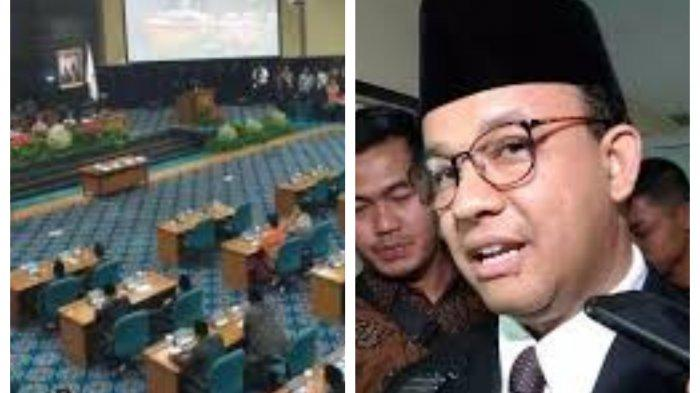Kabar Buruk Gubernur Anies Baswedan dan DPR DKI Jakarta Terancam Tak Digaji, Gegara APBD Lem Aibon?