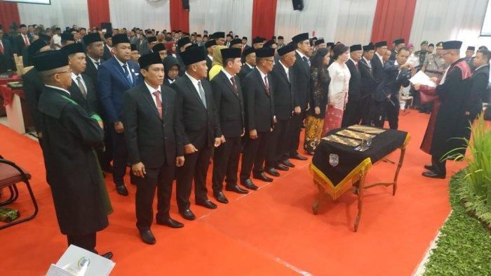 35 Anggota DPRD Kaltara Dilantik di Tanjung Selor, Norhayati Andris Didaulat jadi Ketua Sementara