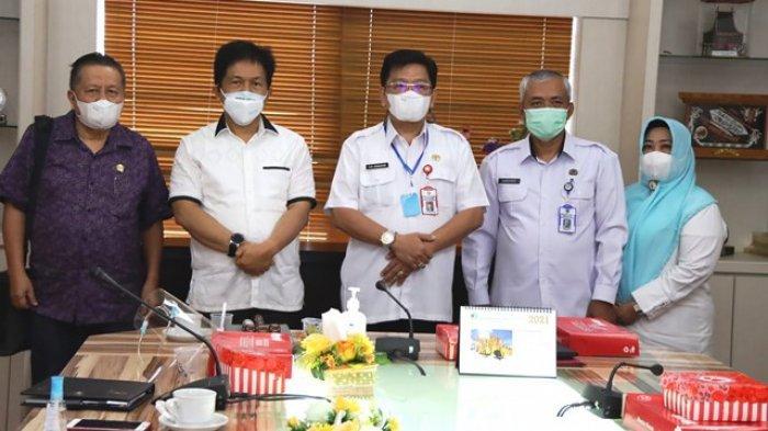 DPRD Sulawesi Utara melakukan kunjungan kerja di DPRD Kaltim.