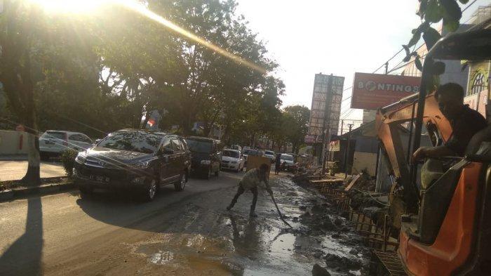Mulai Senin Sampai 30 November, Ruas Jalan Jenderal Sudirman Depan BSB Ditutup, Ini Penjelasannya