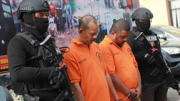 Curi Kendaraan di Kutai Kartanegara, Dua Pelaku Curanmor Diciduk Polres Kukar di Samarinda
