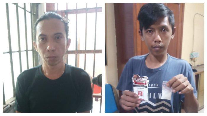Polisi Lakukan Penyamaran, Berhasil Tangkap Dua Orang Pengantar Narkoba di Samarinda