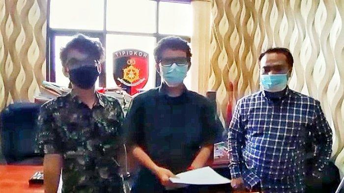 Anak Anggota DPRD Samarinda yang Acungkan Jari Tengah kepada Petugas, Akhirnya Minta Maaf