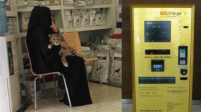 Kemewahan yang Hanya Ada di Dubai, Pelihara Harimau hingga Mesin ATM Emas Jadi Hal Lumrah
