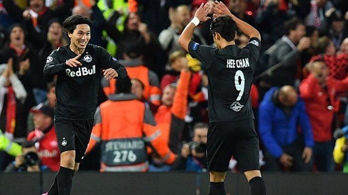 Duo Asia Milik Salzburg Unjuk Gigi di Liga Champions, Torehkan Assist Terbanyak