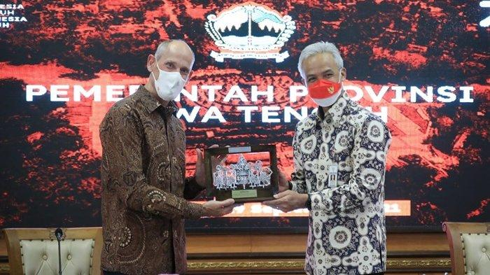 Duta Besar Belanda Temui Ganjar, Lanjutkan Kerja Sama Penanganan Banjir dan Rob di Jawa Tengah