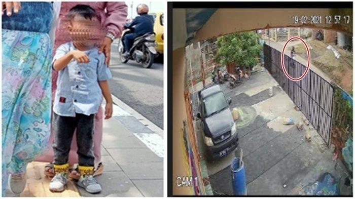 Viral Detik-detik Penculikan Anak Terekam CCTV,Sang Ibu Sempat Mengejar Tapi Gagal, Lihat Videonya
