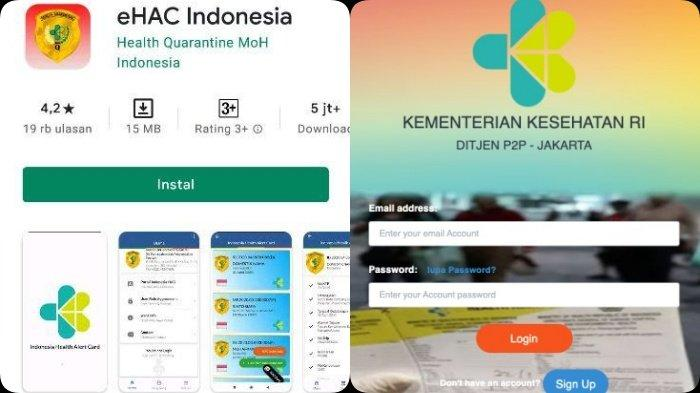 e-HAC Jadi Syarat Wajib Perjalanan Udara - Laut, Cara Lengkap Isi e-HAC via Aplikasi dan Website