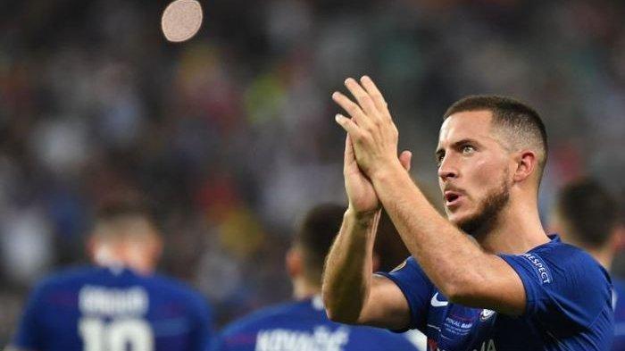 Segera Berseragam Real Madrid, Pemilihan Nomor Punggung Eden Hazard Jadi Problem Tersendiri