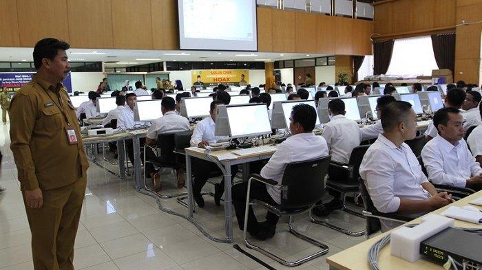 1.189 Peserta Ikuti Tes CPNS Formasi Guru di Kukar, Bupati Berharap Putra Daerah Mampu Lolos
