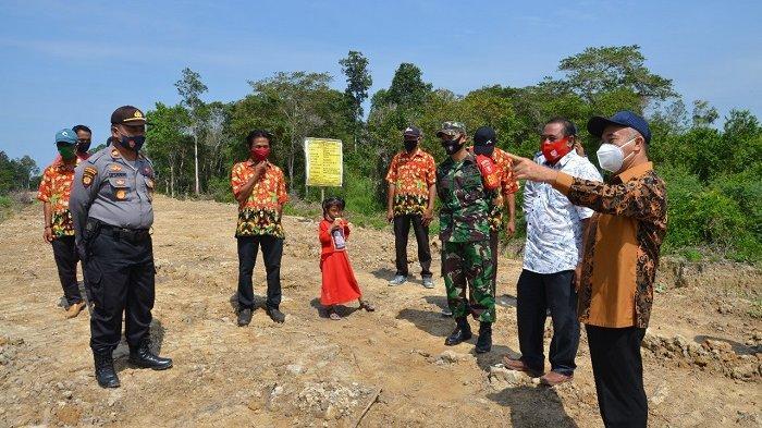 Percepat Pemerataan Pembangunan di Kutai Barat, Pemkab Bangun Jalan di Kampung Bakung