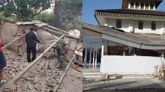 Dahsyatnya Gempa Bali Terasa Sampai Lumajang, Lihat Foto-foto dan Video Kerusakan Akibat Gempa