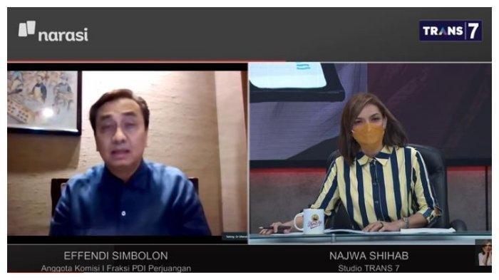 Politikus PDIP Tanya Jokowi Soal Pasal Karet di UU ITE, Refly Harun & Najwa Shihab Tak Tinggal Diam