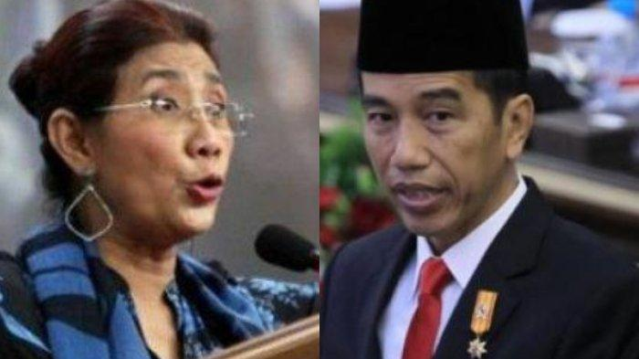 Susi Pudjiastuti Pastikan Dirinya tak Lawan Jokowi, Ada Permintaan ke Presiden Soal Ujaran Kebencian
