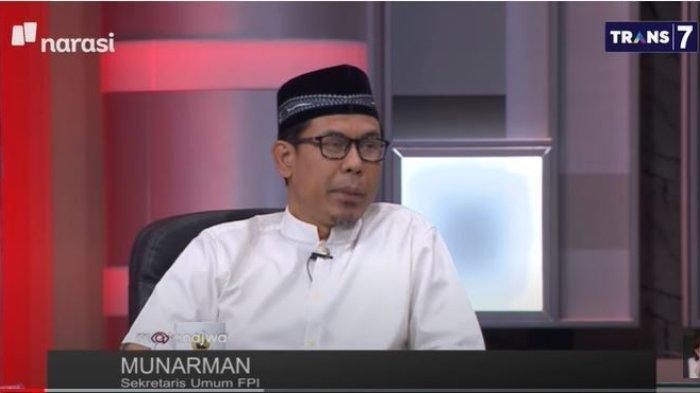 Eks Sekretaris FPI Munarman tampil di Mata Najwa