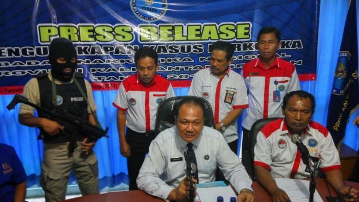 Warga Kaltara yang Jadi Kurir Sabu di Kalsel Diduga Anggota Jaringan Malaysia