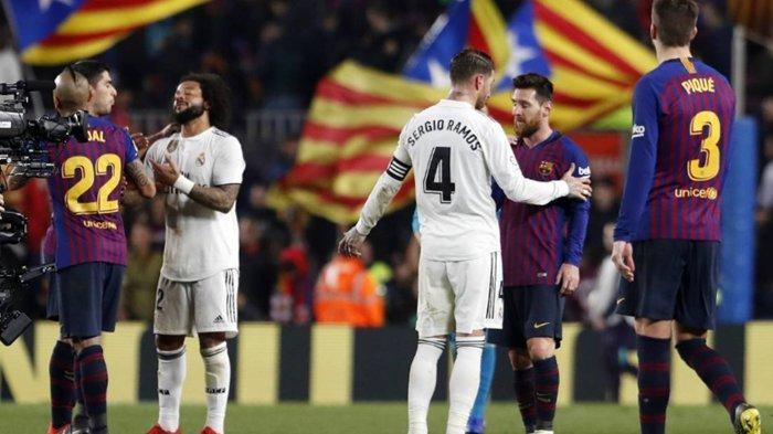 Batal Digelar Pekan Depan, Sampai Kapan Duel El Clasico Barcelona vs Real Madrid Ditunda?